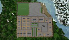 Minecraft medi... Minecraft Medieval Village Layout ...