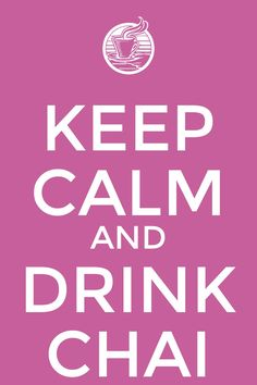 Keep Calm and Drink Chai. Mayura restaurante & Lounge - Barcelona