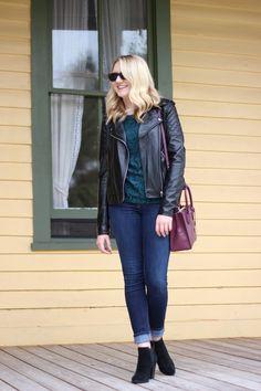 Stephanie Kamp Blog: Fall Green Crochet Lace Top