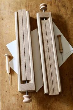 Awl Gauge 15mm & Awl Gauge Pricker  Bookbinding Tools