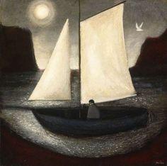 John Caple(1966~)「Sailing with the Moon」