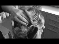 """""""How to do a Fingerwave"""" by Mary Brunetti for Intercoiffure (1920's Film Style)"""