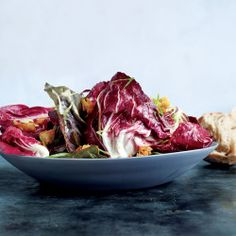 Radicchio Salad with Pickled Grapes and Goat Cheese Recipe - Bon Appétit