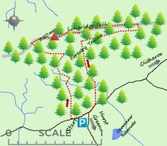 Ingleton falls walk 45 miles short walks pinterest yorkshire longridge fell lies near clitheroe and lancaster with views across the forest of bowland and pendle hill and offers some interesting walks in the forestry fandeluxe Image collections