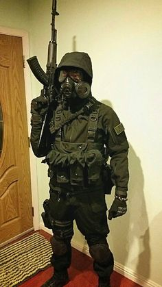 Reddit - airsoft - S.T.A.L.K.E.R Sunday Paintball Gear, Airsoft Gear, Combat Armor, Combat Gear, Nuclear Apocalypse, Post Apocalypse, Apocalypse Character, Military Equipment, Military Art
