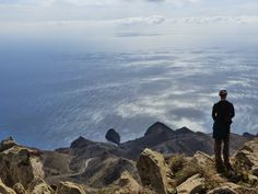 The summit of El Fraile (493m) from Los Escullos - Hiking to the Top of the Cabo de Gata Natural Park