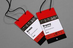 A graphic design firm generating its own projects, initiatives, and content while taking on limited client work. Run by Bryony Gomez-Palacio and Armin Vit in Austin, TX. Conference Badges, Conference Branding, Armin, Event Branding, Name Badges, Badge Design, Identity Design, Brand Identity, Personalized T Shirts