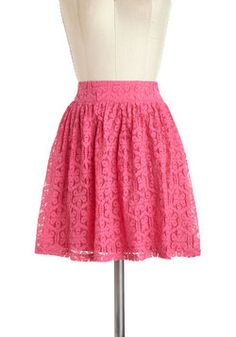 The Thing to Bring Skirt, #ModCloth - bought this skirt from ModCloth and just wore it today--love it!