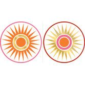 Found it at Wayfair - Jonathan Adler Geo Circles Dot Wall Decal
