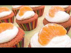 Cupcakes de naranja.