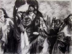 JOHANNA KALLiOiNEN  Charcoal on Paper