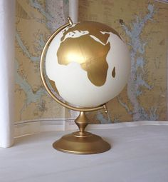 This listing is for a custom hand painted 8 or 12 diameter globe for wedding guests to sign. Globes are made to order.