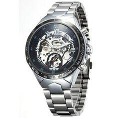 Montre Homme  Luxe Automatique Mécanique Squelette   -Men Watch Mechanical