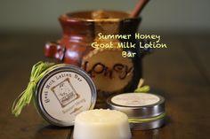 Lazy Daisy Soap Co - Summer Honey Goat Milk Lotion Bar