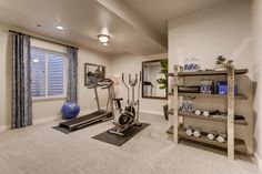 workout nook in basement - workout nook ; workout nook home gyms ; workout nook in bedroom ; workout nook in basement ; home workout nook ; Home Gym Garage, Diy Home Gym, Home Gym Decor, Gym Room At Home, Home Gym Basement, Basement Bedrooms, Basement Workout Room, Workout Room Decor, Workout Room Home