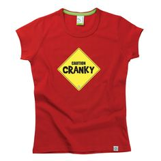 Caution Cranky Kids T-Shirt by Hairy Baby Happy Kids, Cool Tees, Cool Stuff, Baby, T Shirt, Tops, Women, Happy Children, Supreme T Shirt