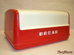 I have a red bread box but I think I like this one more!