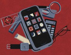 The New Swiss Army Knife 30 Awesome Satirical Illustrations That Capture The Flaws Of Our Society Satire, What Is A Product, Sarcastic Pictures, Satirical Illustrations, Visual Metaphor, Social Issues, Illustration Art, Flaws, Smartphone