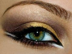 Love the white eye liner