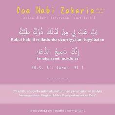 Doa Nabi Zakaria A.S.