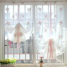 curtains and window treatments ideas curtains and window treatments ideas The post curtains and window treatments ideas appeared first on Dome Decoration. Sheer Linen Curtains, Floral Curtains, Curtains With Blinds, Balloon Curtains, Window Blinds, Window Shutters, Valances, Drapery, Shabby Chic Kitchen