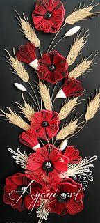 Ayani art: More wheat, more poppies