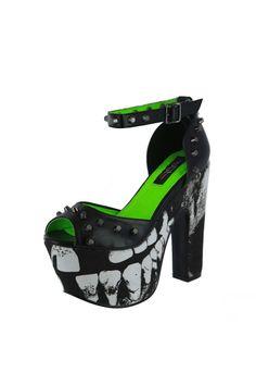 Loose Tooth Platform- #KinkyMissLingerie #IronFist #ShoeGame Loose Tooth, Iron Fist, Shoe Game, Kinky, Platform, Lingerie, Heels, Clothing, Fashion