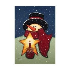 Snowman Candle Large Flag Star Scarf Snow by Custom Decor, http://www.amazon.com/dp/B001D04GYM/ref=cm_sw_r_pi_dp_3oQ-rb03WQD9Y