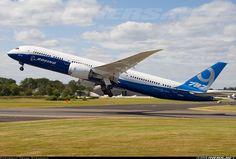 Boeing 787-9 Dreamliner Farnborough July 13 2014 N789EX Frank Steinkohl