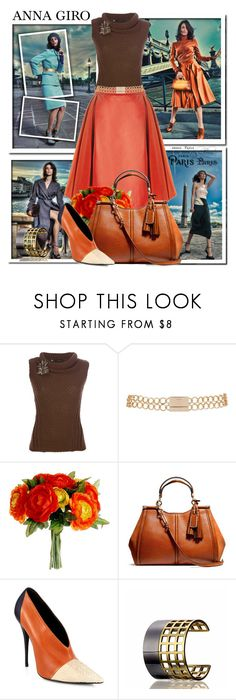 """""""Fall Look"""" by annagiro ❤ liked on Polyvore featuring Dsquared2, Etienne Deroeux, River Island, Coach, Narciso Rodriguez and Reed Krakoff"""