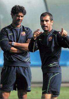 Guardiola y Rijkaard Vs Sport, Pep Guardiola, Club, Romance Novels, Football Soccer, Fc Barcelona, My Passion, Pitch, Superstar