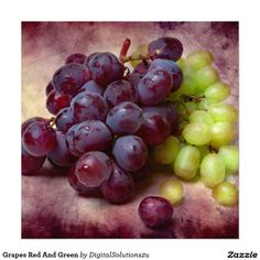 Grapes Red And Green Photo Print