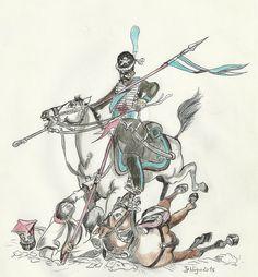 1812 Polish Lancer vs Opolchnie Cossack by Stcyr74 on DeviantArt