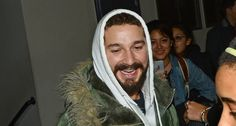 Shia LaBeouf Leaves 'All My Movies' Theater with a Big Smile!