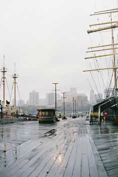 NYC. south street seaport //  by isabelle bertolini