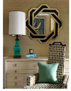 Note my surprise when I saw that Jean-Louis Deniot, Parisian interior designer used the very same lamp that I found at an estate sale for $9 in a Chicago apartment.  Nice!!!