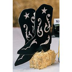 Western theme.. Centerpiece idea