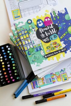 This adult coloring book will take you around the world | Shopping+Services | Spot.ph: Your One-Stop Urban Lifestyle Guide to the Best of Manila