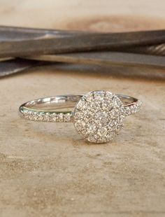 Brigitte $1595 (includes diamonds) | Unique Engagement Rings, Conflict-Free Diamonds & Gemstones | Dana Walden Bridal