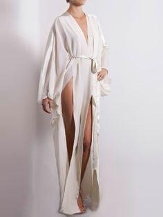 Marika Vera - Selene Kimono in Oyster White