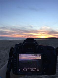 #camera #sunset #beauty #nature #freedom #beach #sea #sun