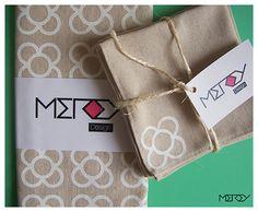 Servilletas de tela Juego de servilletas de tela por Mereydesign