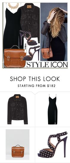 """Style icon"" by leathersatchel ❤ liked on Polyvore featuring Balenciaga, Christopher Esber, The Leather Satchel Co., Oscar de la Renta, ASOS, ootd and topset"