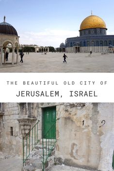 Israel: A walk through the beautiful Old City of Jerusalem - Travelwriter. Morocco Beach, Visit Morocco, Dome Of The Rock, Israel Travel, Cairo Egypt, Beautiful Places To Travel, Old City, Jerusalem