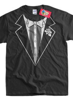 5102d7851 Funny Tuxedo Wedding Anniversary Party Fancy Dress T-Shirt - Tuxedo Tee  Shirt T Shirt TShirt Mens