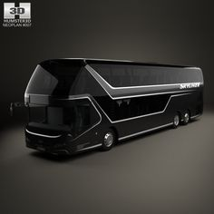 Neoplan Skyliner Bus 2015 3d model from humster3d.com.