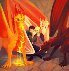 they protec but they also attac dragons - protective girls Harry Potter Comics, Harry Potter Draco Malfoy, Harry Potter Drawings, Harry Potter Ships, Harry Potter Jokes, Harry Potter Anime, Harry Potter Fan Art, Harry Potter Hogwarts, Harry Potter World