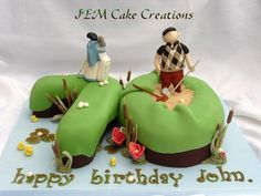 Golf Cake - Cake by Julia