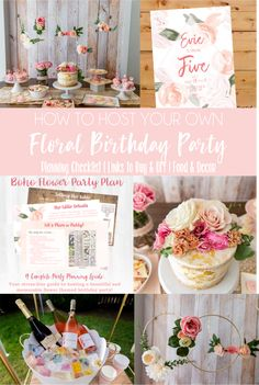 Floral First Birthday Invite, floral birthday invitation, First Birthday Invite Girl, Watercolor Flower Invitation, Watercolor Floral Invite First Birthday Pictures, Girl First Birthday, First Birthday Parties, First Birthdays, Flower Invitation, Invite, Kids Party Themes, First Birthday Invitations, Watercolor