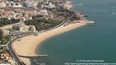 A Terceira Dimensão - Fotografia Aérea: Praia de Santo Amaro de Oeiras
